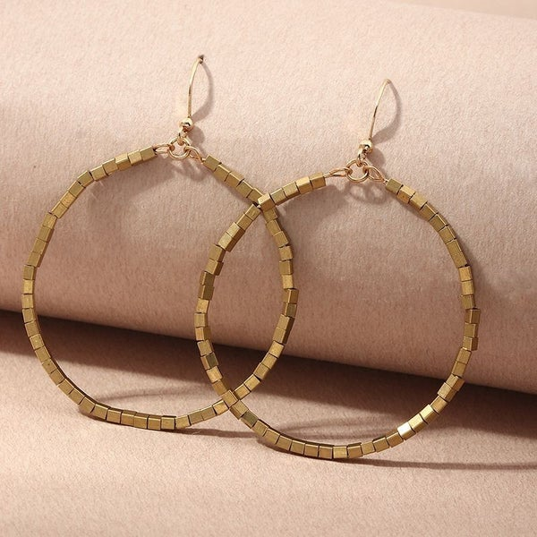 Round Of Applause Hoop Earrings