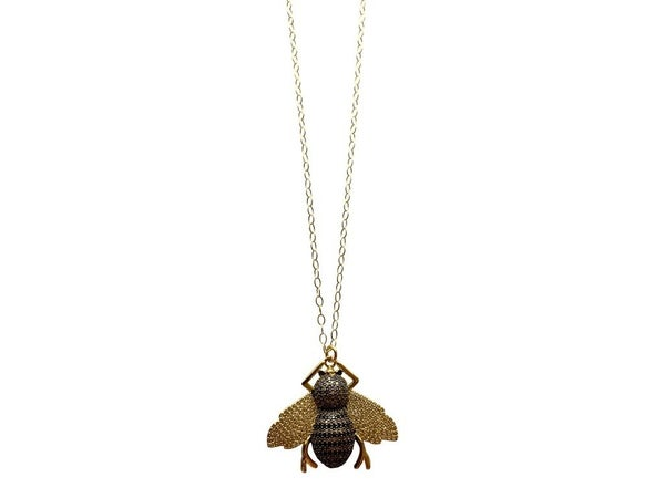 Love, poppy Buzz Necklace