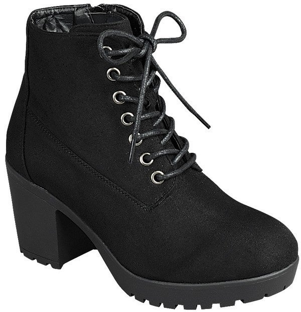 Lace it Up Booties