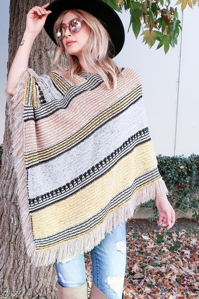 To The South We Go Poncho