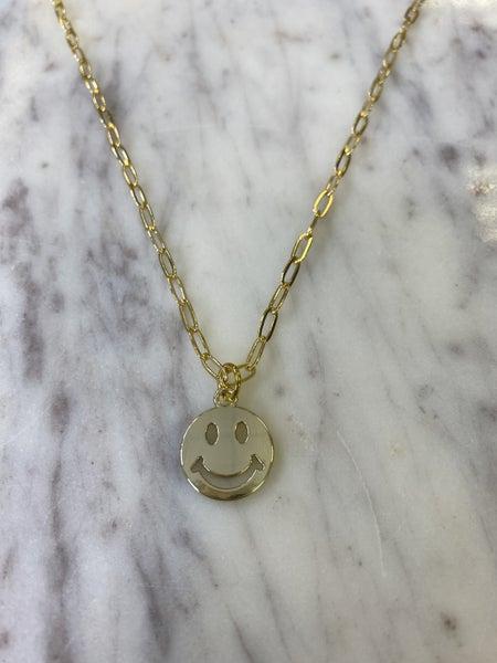 Jennifer Thames - You Make Me Smile Necklace