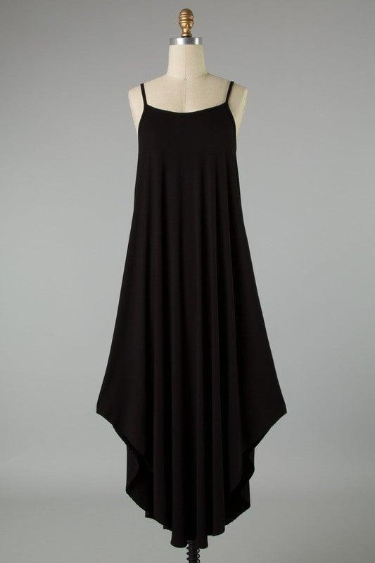 Fall Days Dress - Black