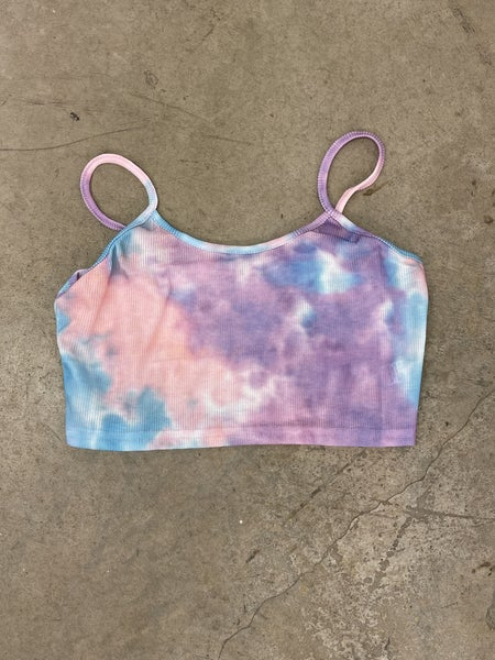 A Dreamer Crop Top-Purple