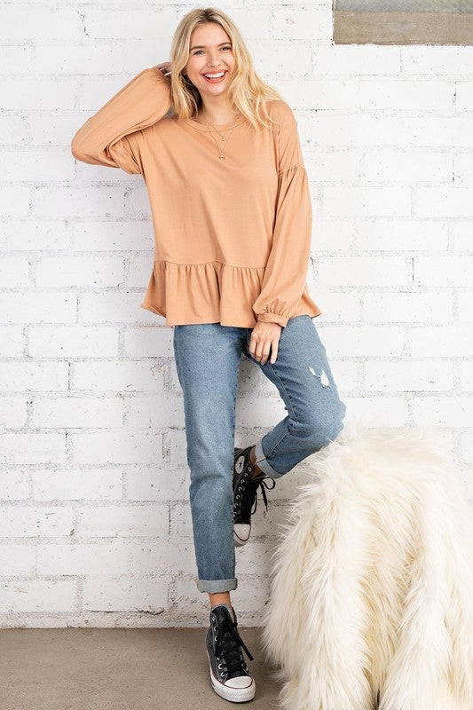 PLUS/REG Right From The Start Knit Top