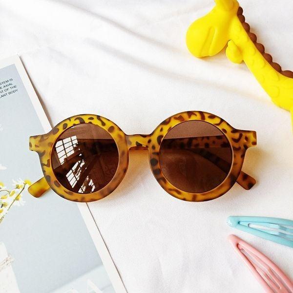 Fun In the Sun UV Glasses - Leopard Print