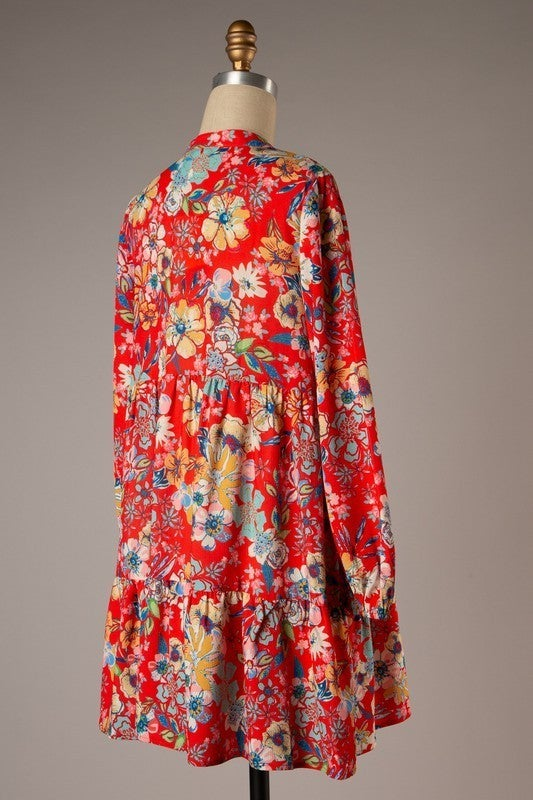 Echoes Of Spring Dress