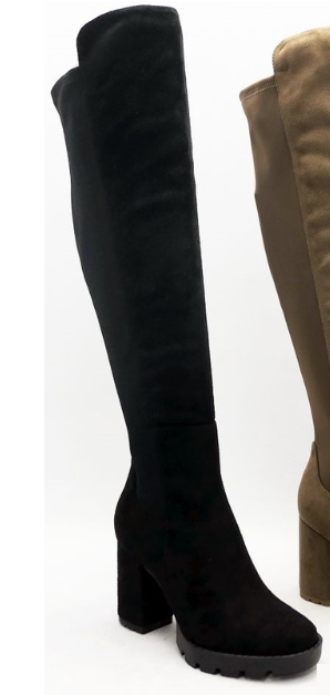Stand Tall Boots - Black
