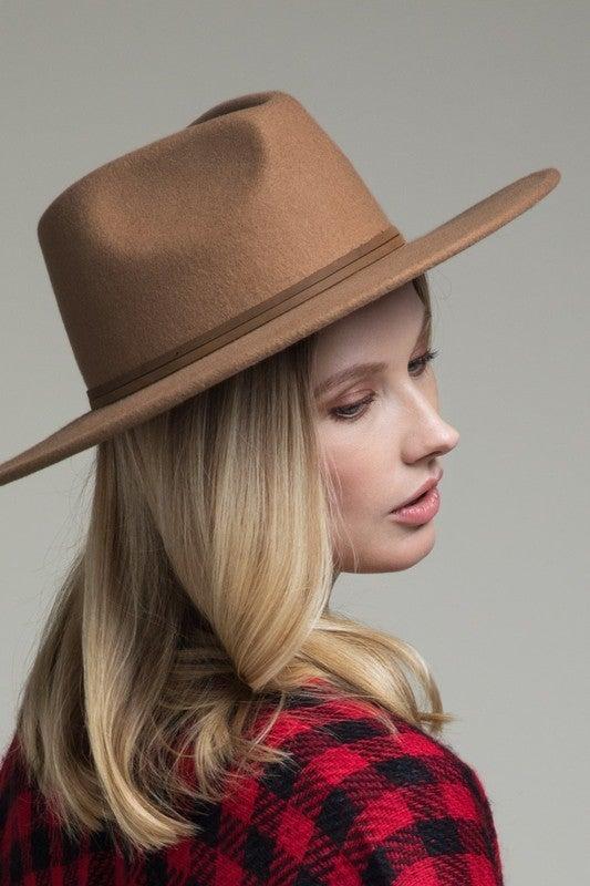 Let's Run Away Panama Hat