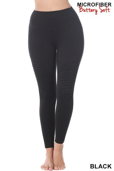 Reg/Plus Keep It Simple Leggings - Black