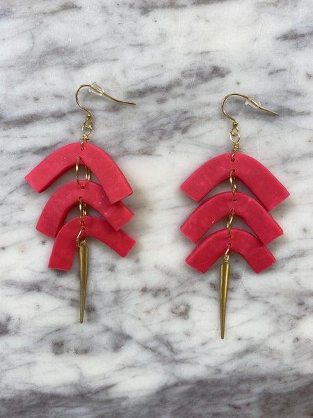 Chic'd Out Fan Favorite Earrings - Pink