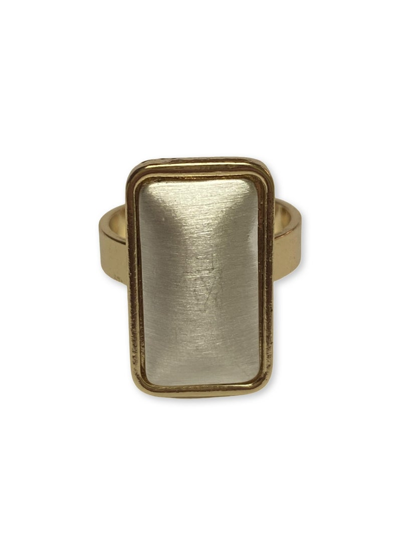 Trifecta of Beauty Ring - Gold/Silver
