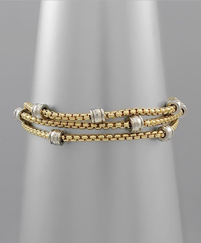 Trendy As Always Bracelet - Gold