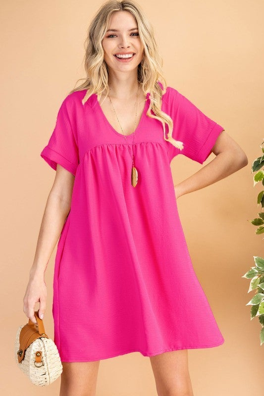 Love Yourself Dress - Pink