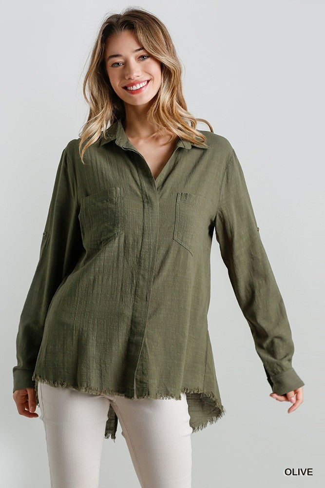 Buttons For Life Top