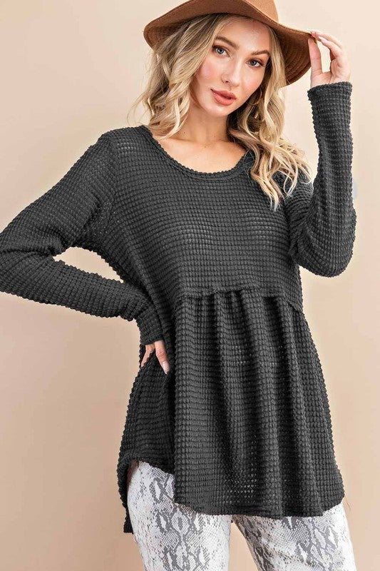 Cozy Is Calling Sweater - Charcoal