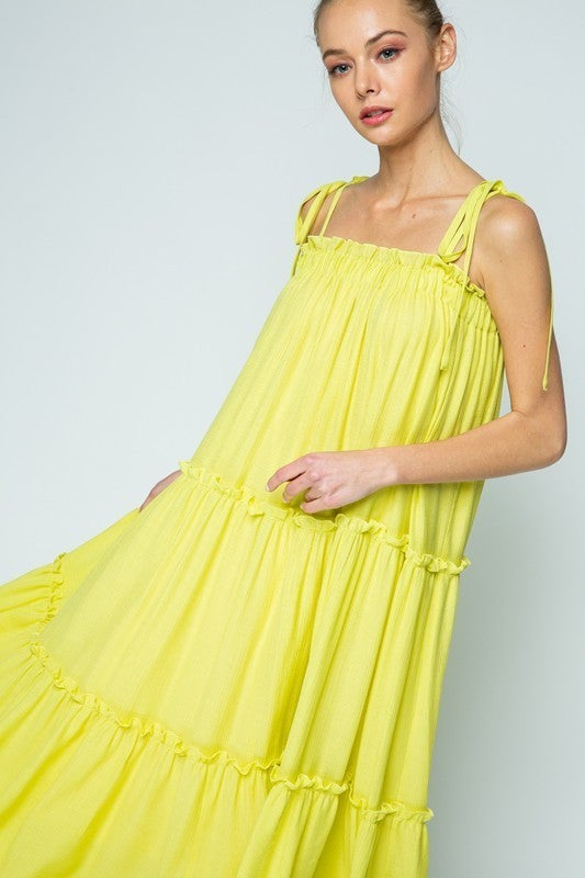 Summer In The City Dress - Lemon