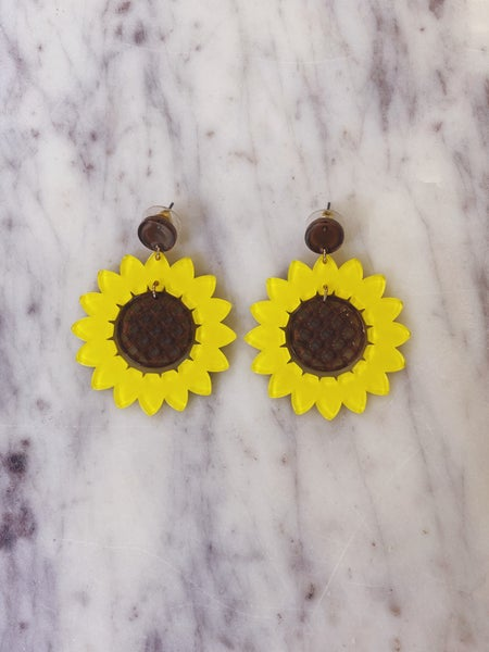 Sunflower Sunshine Earrings