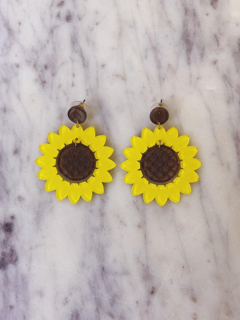 Sunflower Sunshine Earrings