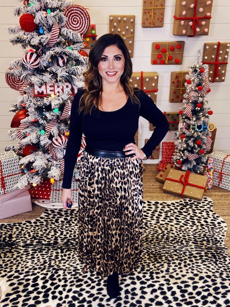 Leopard In Love Skirt