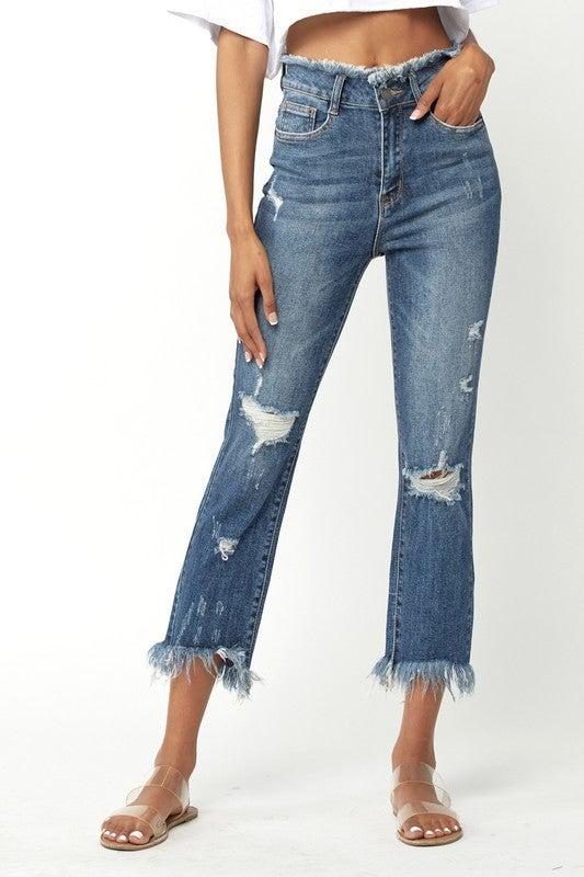 Remember Me Straight Leg Jeans-Medium