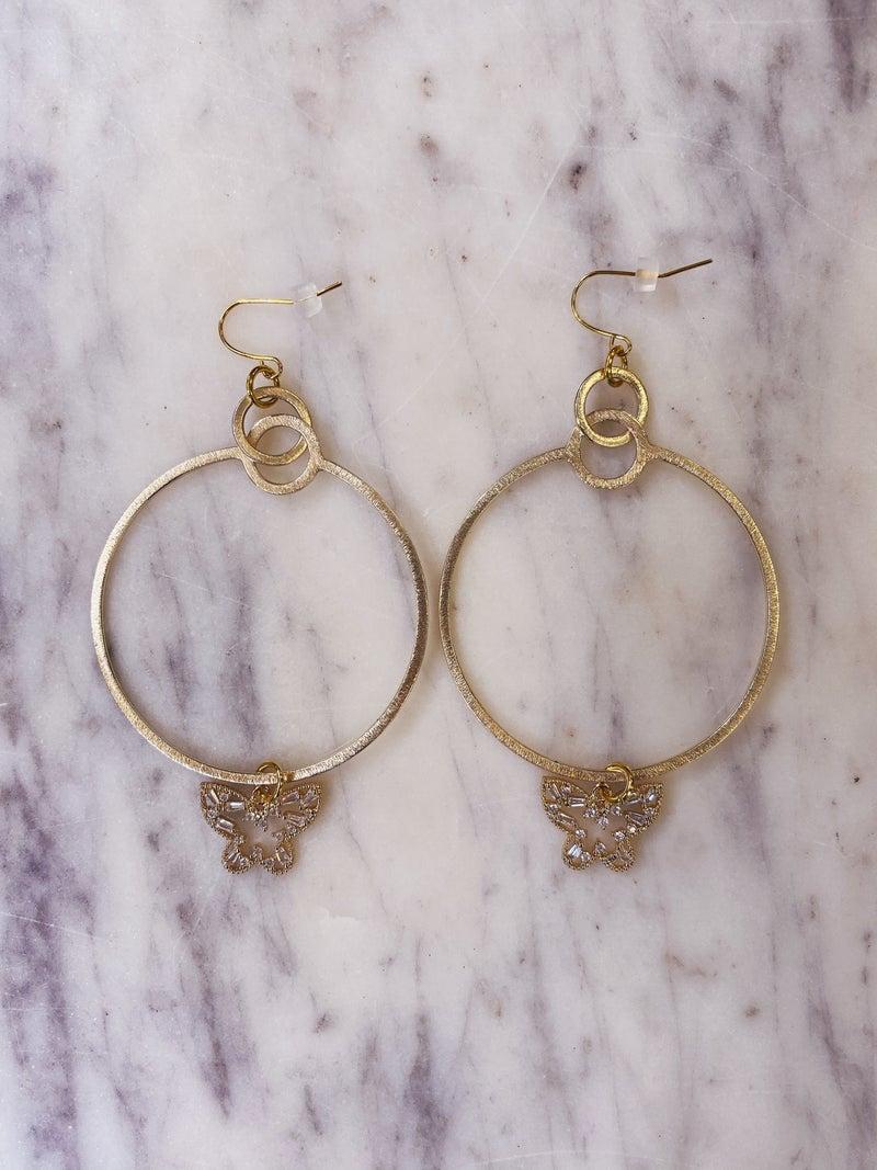 Jennifer Thames - Butterfly Earrings