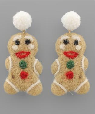 I'm The Gingerbread Man Earrings