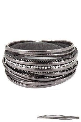 Metallic Wrap Bracelet