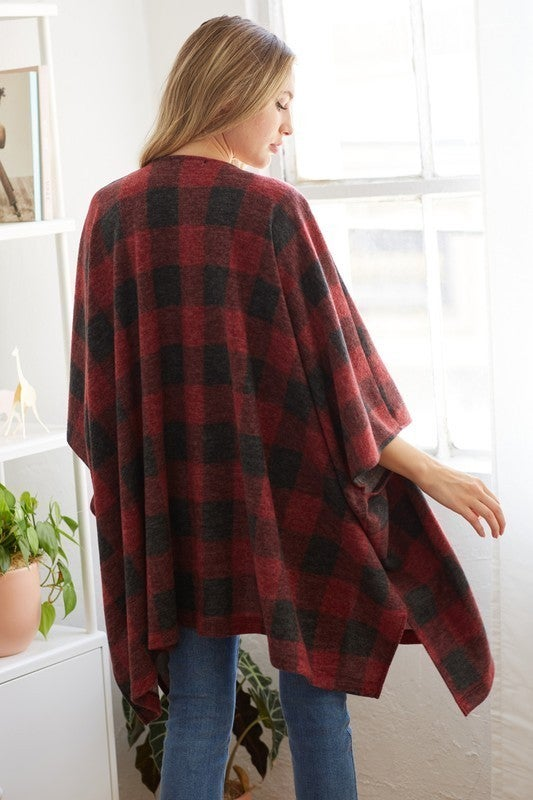 Baby It's Cold Outside Cardigan - Red