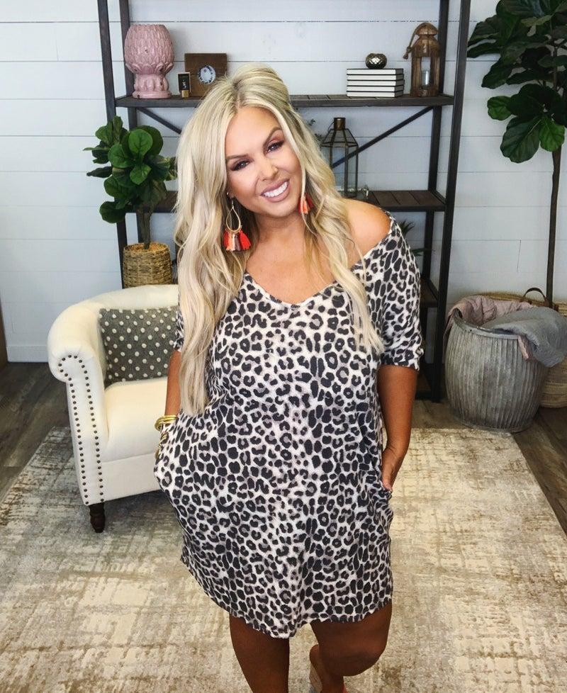 Lucky Leopard Dress