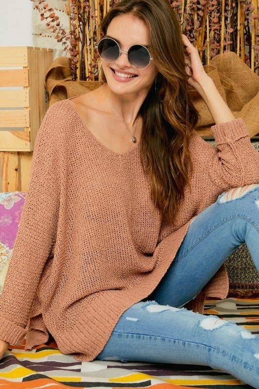 Barely There Top - Camel