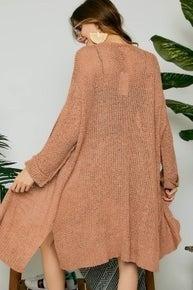 Reg/Plus Perfect Layers Cardigan - Camel