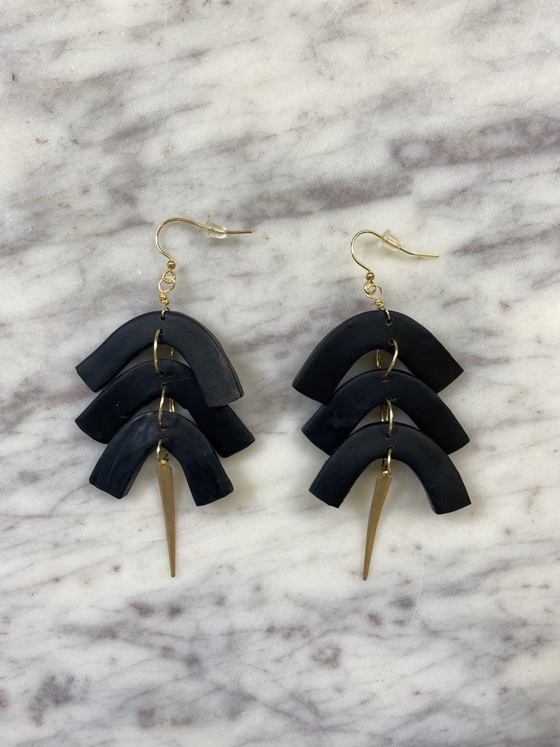 Chic'd Out Fan Favorite Earrings - Black