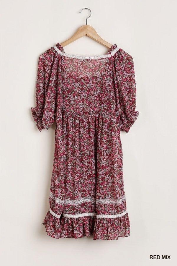Flirting Floral Dress