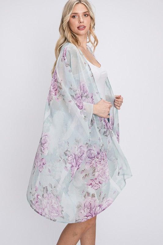 Just For You Kimono - Sage