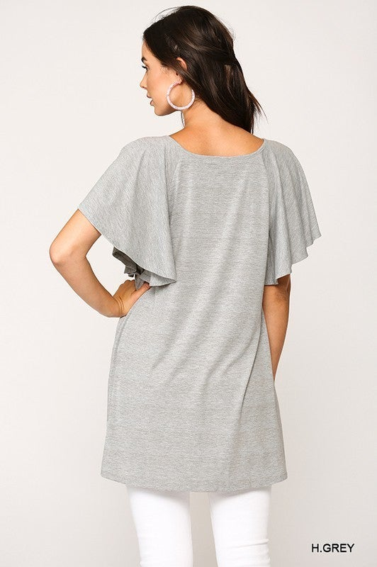 Sign Me Up Tunic Top