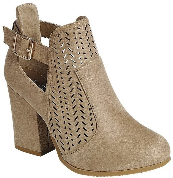 Stomp Your Style Booties - Taupe