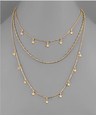 Interstellar Star Necklace