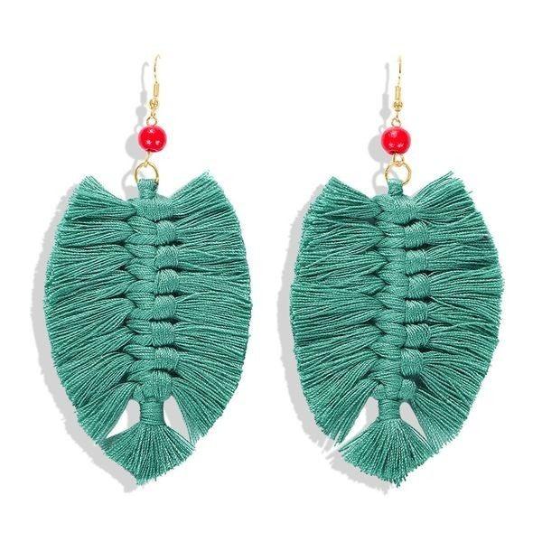 Your Biggest Fan Earrings - Green