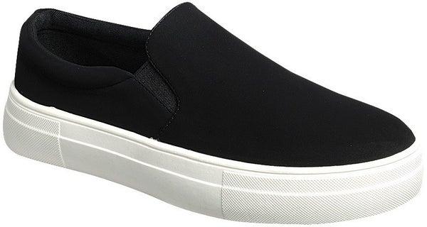 Cruisin' Around Town Sneakers - Black