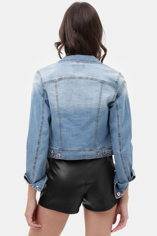 Denim Town Jacket