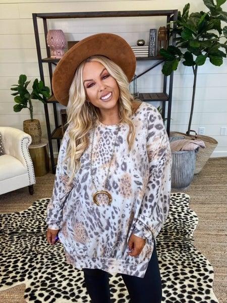 By My Side Leopard Dress