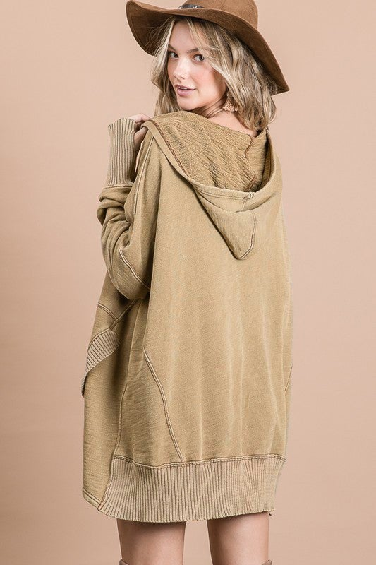 Sahara Fall Fun Hoodie Top