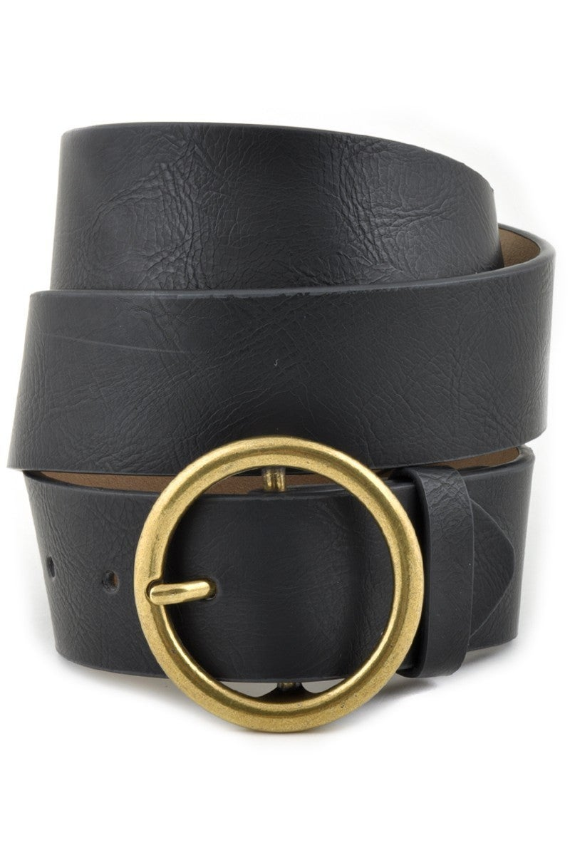 Leatherette Jean Belt
