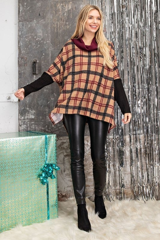Plaid About Fall Top