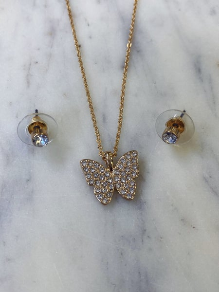 Hearts a Flutter Necklace