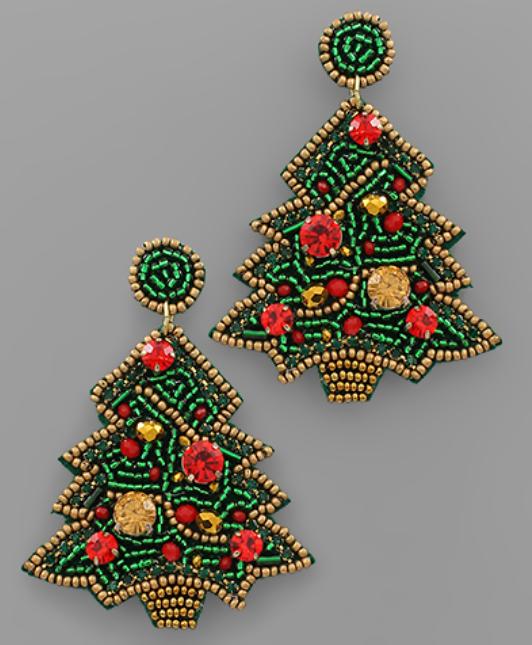 Oh Christmas Tree Earrings