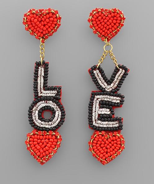 Love Note Earrings