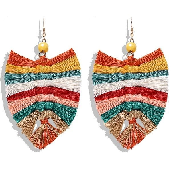 Your Biggest Fan Earrings - Multi