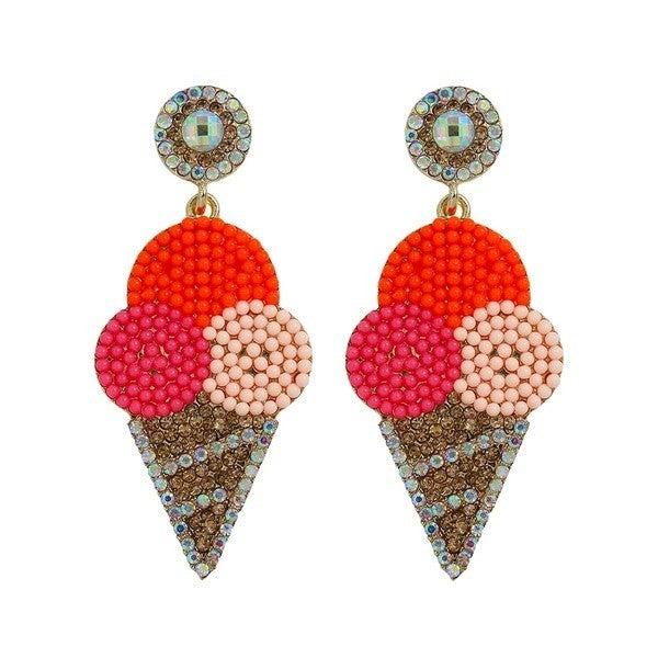 Sweet Treats Earrings - Pink