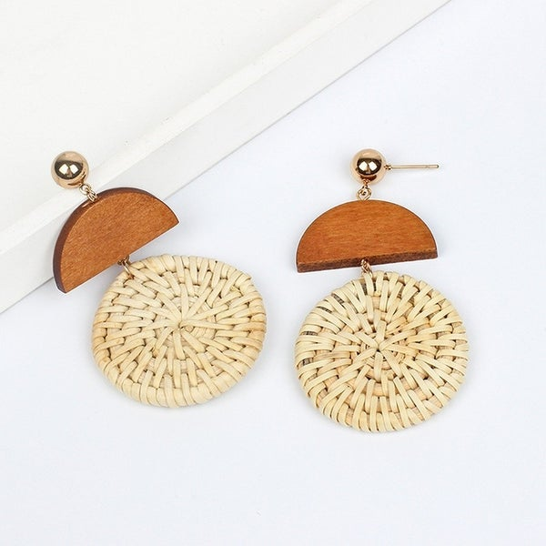 All About Fun Earrings - Yellow